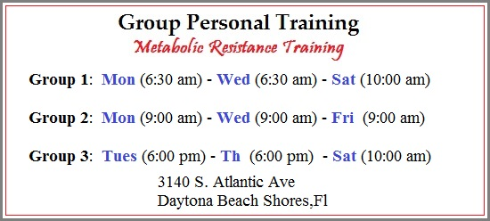 group personal fitness